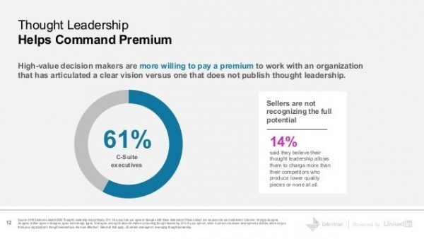 thought leadership builds trust studies show